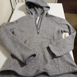 Lululemon grey half zip hoodie